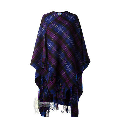 Edinburgh - Soft & Warm Lambswool Full-Size Ladies' Cape - Heritage Of Scotland