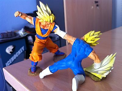FIGURAS DRAGON BALL - GOKU VS VEGETA