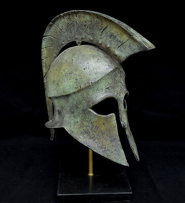 Leonidas Spartan Great bronze Helmet artifact collectible