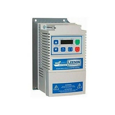 1.5 hp variable speed controller ac drive phase converter 115/230V Leeson 174651