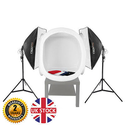 1050w Continuous lighting Cube Tent Product Photography Kit Reflective Surface