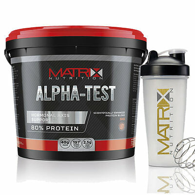 Alpha-Test Matrix Nutrition Whey Optimum Protein Powder - All Flavours & Sizes