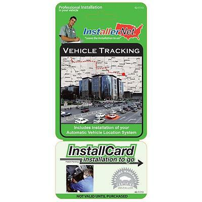Professional Installation - Vehicle Tracking