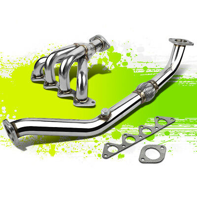 FOR 95-99 ACCENT GL/GS/L/GSI 1.5 l4 SOHC S.S. 4-1 RACING MANIFOLD HEADER/EXHAUST