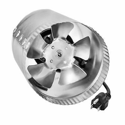 iPower 6 Inch 240 CFM Booster Inline Duct Vent Blower Exhaust & Intake HVAC Fans