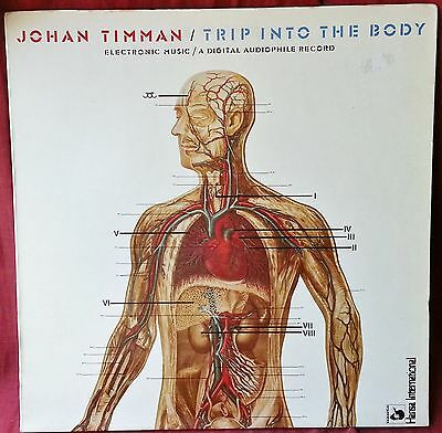 # J. Timman TRIP INTO THE BODY Germany 1981 VERY RARE G/F ELETTRONICA LP-S00871