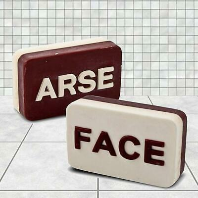 Arse/Face Soap Shower Clean Body Wash Hygienic bar Novelty Funny Gift