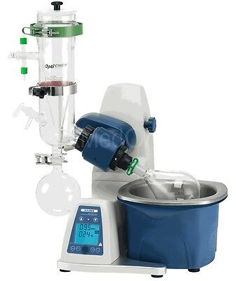 NEW ! Scilogex RE100-Pro Rotary Evaporator w/Vertical Dry Ice Condenser 61113206