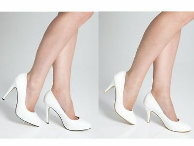 White Wedding Shoes - Lovely White Bridal Shoes for Brides or Bridesmaids