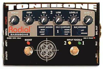 Radial Tonebone Bassbone 2 Channel Bass Pre and DI