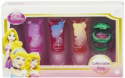 Markwins DISNEY PRINCESS 3er Pack Lipgloss & Ring NEU&OVP