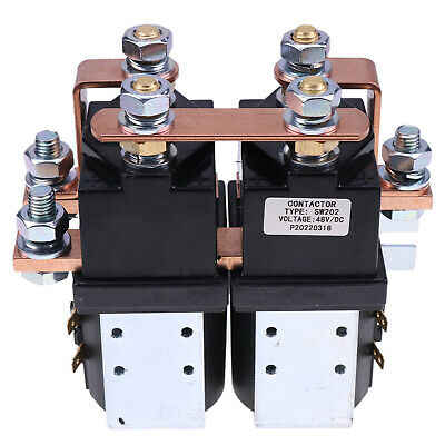 SW202 Style Reversing Contactor 48V heavy duty 400A for Albright Electric