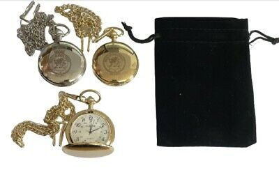 Royal Air Force Police  Rafp  Crest Pocket Watch Personalised &  Engraved Bn