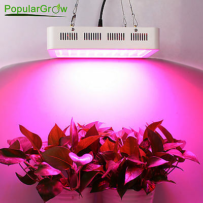 PopuparGrow 300W LED Grow Light UV&IR Full Spectrum Greenhouse Hydroponic System