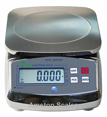 33 x 0.005 LB DIGITAL SCALE WASHDOWN WATER PROOF KITCHEN FOOD PORTION CONTROL