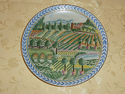 Decorative plate of Farm land by Andrea by Sadek