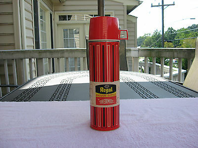 Vintage Regal Vacuum Bottle 28 Oz. By Thermos # 2429~Unused!