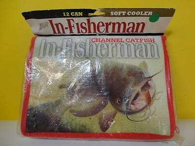 2006 12 CAN SOFT COOLER IN-FISHERMAN CHANNEL CATFISH CAT FISH IF12CR NEW NIP