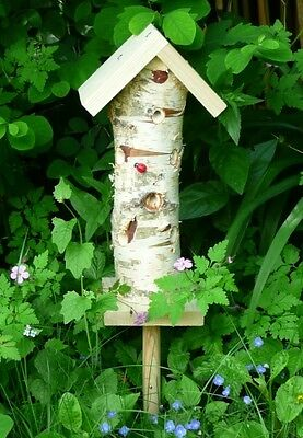 LADYBIRD & INSECT TOWER Wildlife World Hibernate Hotel Home |FREE Fast Delivery!