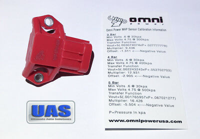 Omni Power 4 Bar Map Sensor Civic Si B16 B16a B16a2