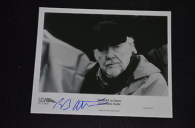 ROBERT ALTMAN signed Autogramm 20x25 cm In Person (+2006)