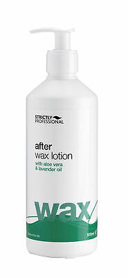 Strictly Professional After Wax Lotion With Aloe Vera & Lavender Oil 500ml