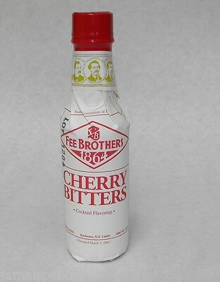 5 oz. Fee Bros CHERRY Aromatic BITTERS Cocktail Flavoring FREE USA SHIP