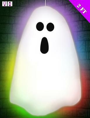 LED Colour Changing Light Up Ghost Ghoul - Halloween Party Decoration