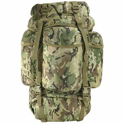 British Army Rucksack 60 Litre Bergen Camouflage Military Cadet 60L Backpack
