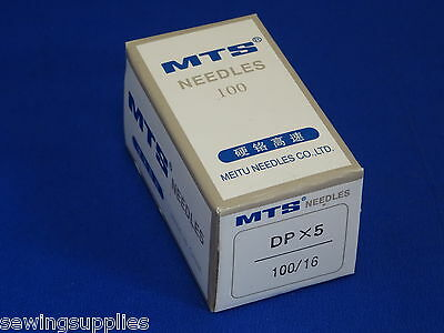 100 Industrial Sewing Machine Needles, Dpx5, 135X5,135X7,134R,sy1901 Size 100/16