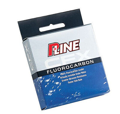 P-LINE CFX CLEAR FLUOROCARBON LEADER 27 YARDS (25 M ) select lb test