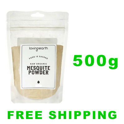 Loving Earth Raw Organic Mesquite Powder 500g