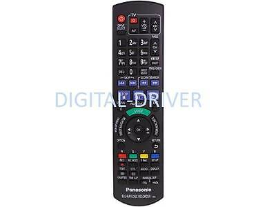New Remote Control For Panasonic Blu-Ray Dvd Dmr-Pwt800Gl Dmr-Xw385