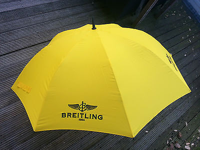 Breitling UMBRELLA brand NEW yellow very RARE item with build in LED LIGHT