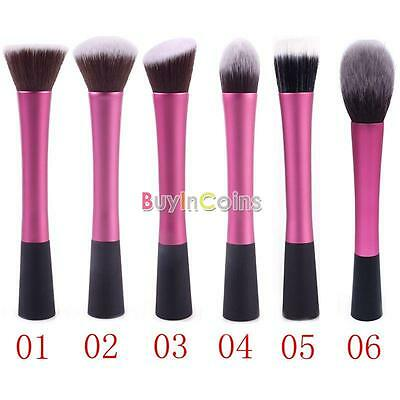 Hot Popular Women Cosmetic Concealer Blush Foundation Brush With Woodden Holder