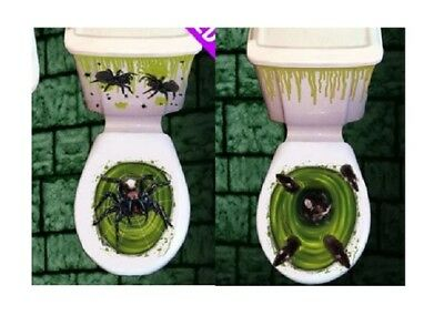 Halloween Toilet Seat Grabber Cover Scary Fancy Dress Horror Party Decoration