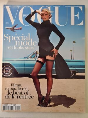 Magazine VOGUE Paris fashion aout 2011 #919 Lara Stone Natasha POLY look Stars