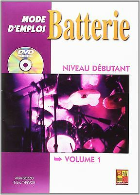 Batterie mode d'emploi - Volume 1 -  Thievon Eric - DVD Inclus