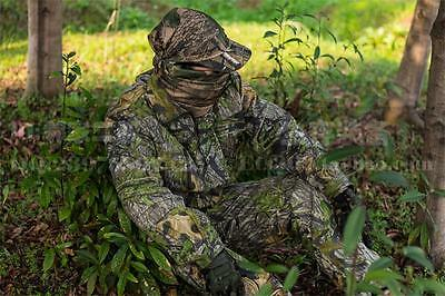 Tactical Camouflage Hunting Clothing Archery Ghillie Suit jacket and pants 2XL