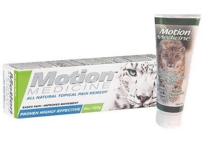 Motion Medicine All Natural Topical Pain Remedy - 4 oz. Analgesic - NEW