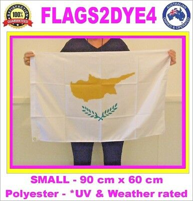 Cyprus flag Cypriot flag includes AUSTRALIA POST TRACKING