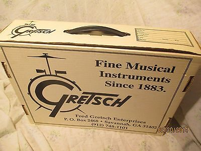 Vintage GRETSCH Ad Case Cardboard Ad Display/ Shipping Document Box 1990's RARE