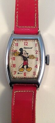 Vintage Authentic Mickey Mouse Analog Watch