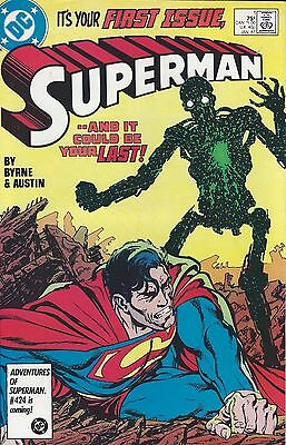 SUPERMAN (1987 2nd Series)  It's Your FIRST ISSUE, SUPERMAN Nº 1