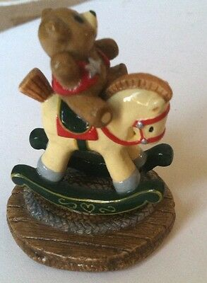 Wee Forest Folk T-06 Ride 'em Teddy! + Same Day FREE shipping US Seller - NEW !