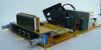 1.5W15W Adjustable PLL stereo FM Transmitter broadcast only PCB 87-108MHZ
