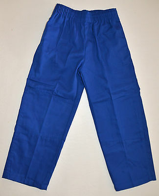 NEW school uniform trousers double knee pants Royal size 5 to 16