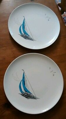 Regatta Paussy Retro 2x dinner plates