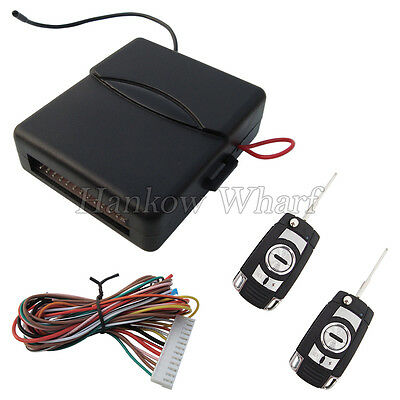 Universal Car Keyless Entry System 4 Buttons Remote Transmitters With Flip Keys