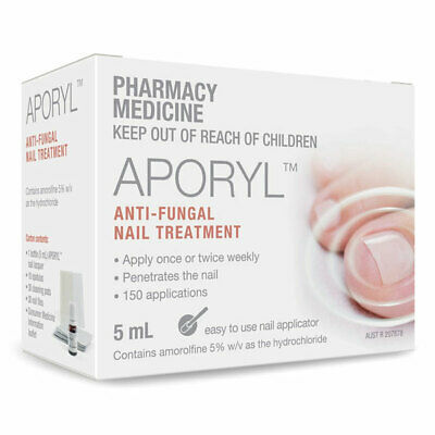 ツ Same As Loceryl Aporyl Anti Fungal Nail Treatment Kit 5Ml Amorolfine